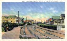 dep-NC001 - Wrightville Beach, North Carolina, NC, USA Railroad Train Depot Postcard Post Card