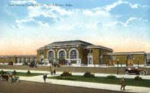 dep-NE006 - New Union Pacific Depot, North Platte, Nebraska, NE, USA Railroad Train Depot Postcard Post Card