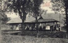 dep-NY085 - Railroad Station, Lebanon Springs, New York, NY, USA Railroad Train Depot Postcard Post Card