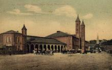dep-RI007 - The Old Providence Union Depot, Providence, Rhode Island, RI, USA Railroad Train Depot Postcard Post Card