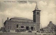 dep-TX002 - Union Passenger Station, El Paso, Texas, TX, USA Railroad Train Depot Postcard Post Card
