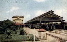 dep-TX006 - Grand Central Depot, Houston, Texas, TX, USA Railroad Train Depot Postcard Post Card