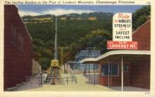 dep-TX020 - The Incline Station, Chattanooga, Texas, TX, USA Railroad Train Depot Postcard Post Card