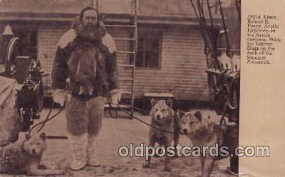 Lieut. Robert E. Peary, Eskimo dogs