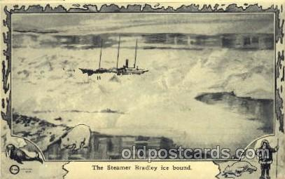the Steamer Bradley ice bound