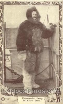 Commander Peary, Arctic Dress