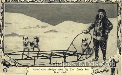 Aluminum sledge, Dr. Cook