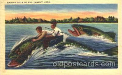 exa000164 - Exaggeration Postcard Post Card