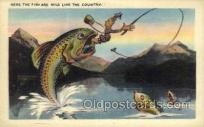 exa002109 - Exaggeration Old Vintage Antique Postcard Post Card