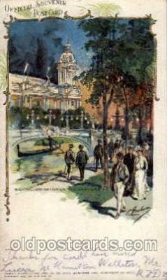 exp020039 - St. Louis World's Fair Exposition 1904, Postcard Post Card