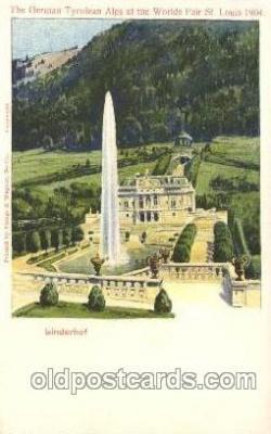exp020063 - St. Louis Exposition 1904 Worlds Fair Postcard Post Card