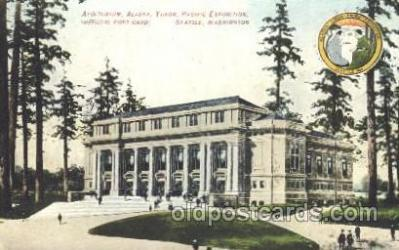 exp050086 - Auditorium 1909 Alaska - Yukon Pacific Exposition Seattle Washington, USA Postcard Post Card