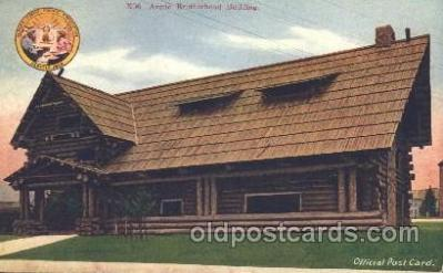 exp050094 - Arctic Brotherhood Building 1909 Alaska - Yukon Pacific Exposition Seattle Washington, USA Postcard Post Card