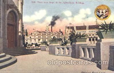 exp050231 - Vista Steps from Agricultural Building 1909 Alaska - Yukon Pacific Exposition Seattle Washington, USA Postcard Post Card