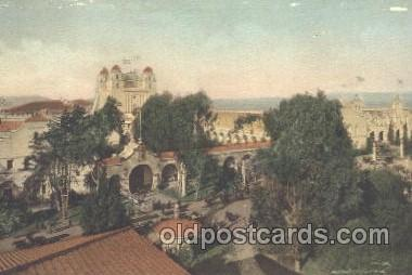 exp080172 - California State Building 1915 Panama International Exposition, San Francisco, California USA Postcard Post Card