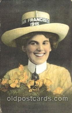 exp080323 - 1915 Panama International Exposition, San Francisco, California USA Postcard Post Card