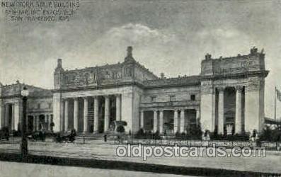 exp080366 - New York state building Panama-Pacific International Exposition,  San Francisco California USA, 1915 Postcard Post Card