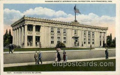 exp080394 - Minnesota state building Panama-Pacific International Exposition,  San Francisco California USA, 1915 Postcard Post Card
