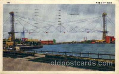 exp100026 - Chicago Worlds Fair Exposition 1933 - 1934, Postcard Post Card