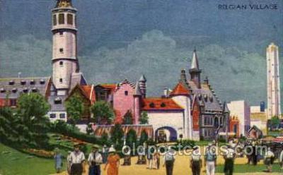 exp100045 - Chicago Worlds Fair Exposition 1933 - 1934, Postcard Post Card