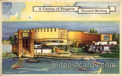 exp100089 - Chicago Worlds Fair Exposition 1933 - 1934, Postcard Post Card