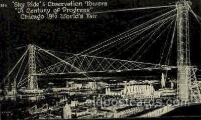 exp100094 - Chicago Worlds Fair Exposition 1933 - 1934, Postcard Post Card
