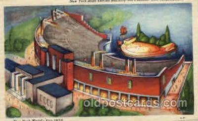 exp150115 - New York Worlds Fair 1939 exhibition postcard Post Card