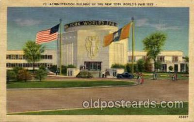exp150134 - New York Worlds Fair 1939 exhibition postcard Post Card