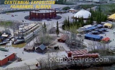 exp160024 - Seatle Washington Worlds Fair 1962, Exposition, Postcard Post Card