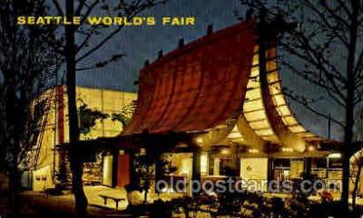 exp160041 - Seatle Washington Worlds Fair 1962, Exposition, Postcard Post Card