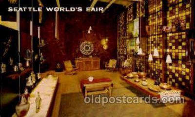 exp160049 - Seatle Washington Worlds Fair 1962, Exposition, Postcard Post Card