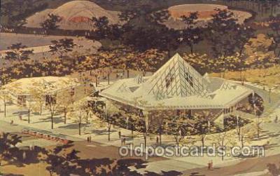 exp170087 - Christian Science New York, USA 1964 - 1965, Worlds Fair, Exposition, Postcard Post Card