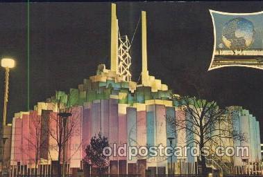 exp170088 - Tower of light New York, USA 1964 - 1965, Worlds Fair, Exposition, Postcard Post Card