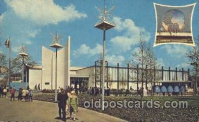 exp170099 - Paris New York, USA 1964 - 1965, Worlds Fair, Exposition, Postcard Post Card