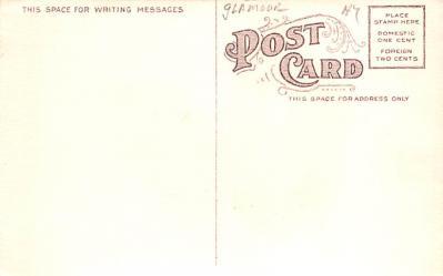 eyy0001021 - Post Card Old Vintage Antique  back