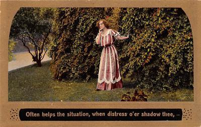 eyy0001041 - Post Card Old Vintage Antique