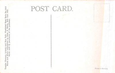 eyy0001041 - Post Card Old Vintage Antique  back