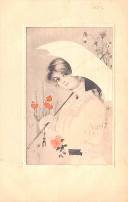 eyy0001231 - Post Card Old Vintage Antique
