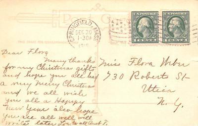 eyy0001231 - Post Card Old Vintage Antique  back