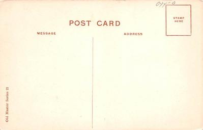 eyy0001343 - Post Card Old Vintage Antique  back