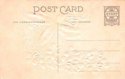 eyy000257 - Post Card Old Vintage Antique  back