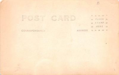 eyy000377 - Post Card Old Vintage Antique  back