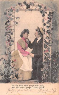 eyy000449 - Post Card Old Vintage Antique