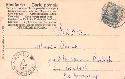 eyy000449 - Post Card Old Vintage Antique  back