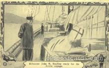 epr001022 - John R. Bradley, Arctic voyage Exploration Postcard Post Card