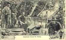 epr001026 - Cook in Camp Exploration Postcard Post Card