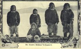 Dr. Cooks Eskimo bodyguard