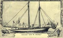 epr001036 - Schooner Exploration Postcard Post Card