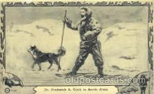 epr001040 - A. Cook in arctic dress Exploration Postcard Post Card