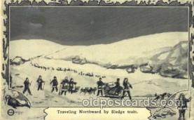 epr001041 - Traveling Northward Exploration Postcard Post Card